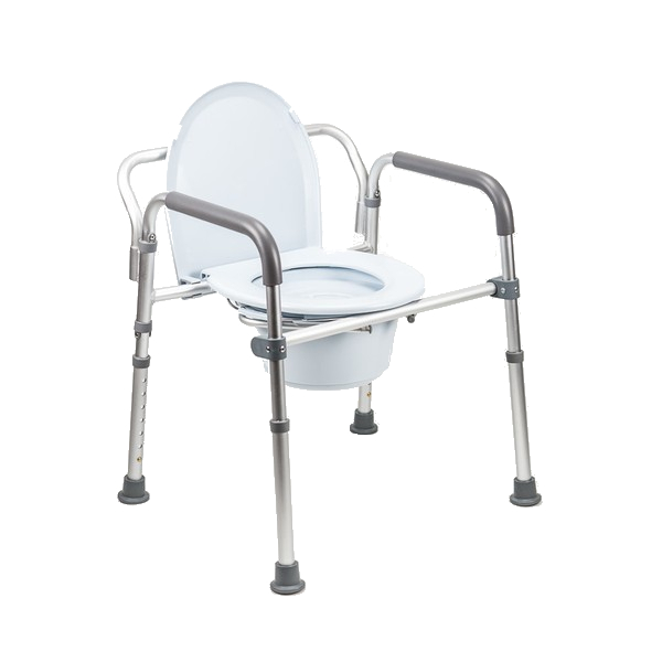 Sedia comoda multifunzione ad altezza regolabile for Altezza sedia